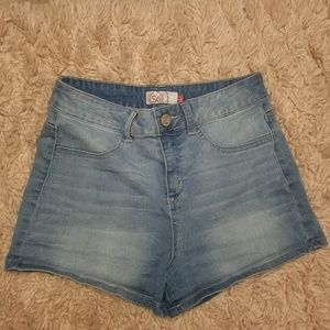 SO Authentic American Heritage midi jean shorts